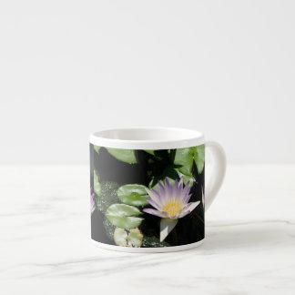 Lavender Water Lilies Espresso Cup
