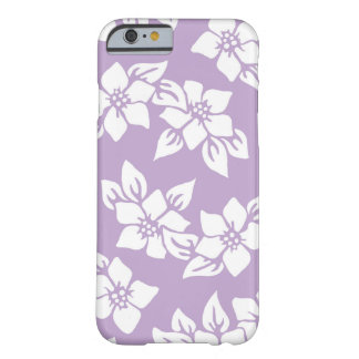 Lavender & White iPhone Case