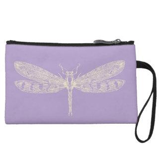 Lavender Wristlet Bag