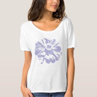 Lavender Zinnia tee