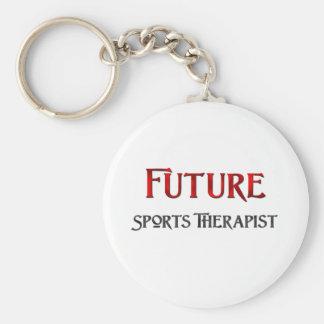 L'avenir folâtre le thérapeute porte-clé rond