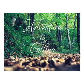 L'aventure appelle carte postale