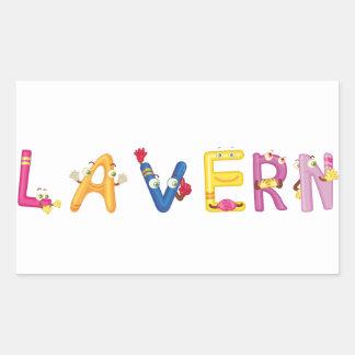 Lavern Sticker