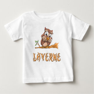Laverne Owl Baby T-Shirt