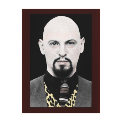 LaVey Stretched Canvas Art Stretched Canvas Print