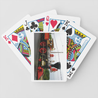 laviathon 63  steam engine bicycle playing cards