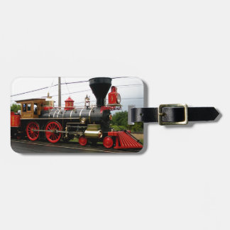 laviathon 63  steam engine luggage tag