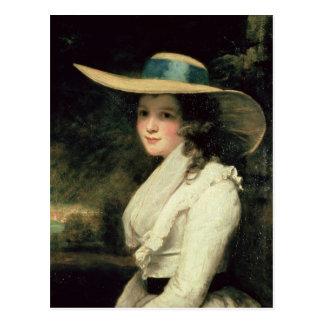 Lavinia Bingham, 2nd Countess Spencer  1785-6 Postcard