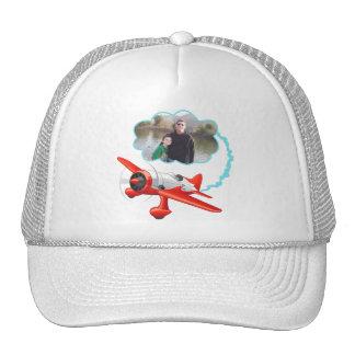 L'avion volant haut ajoutent votre photo casquette de camionneur