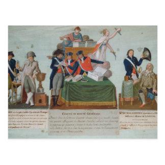 Lavoisier, the Comite de Surete Generale Postcard