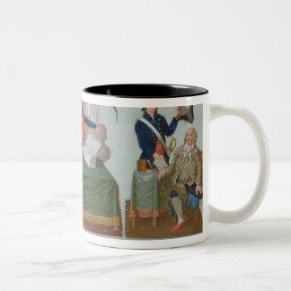 Lavoisier, the Comite de Surete Generale Two-Tone Coffee Mug