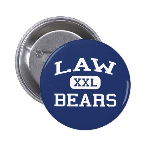 Law Bears Law Middle School Detroit Michigan Pins
