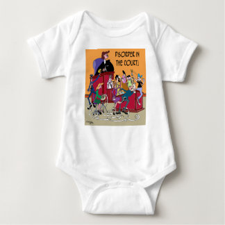 Law Cartoon 6553 Baby Bodysuit