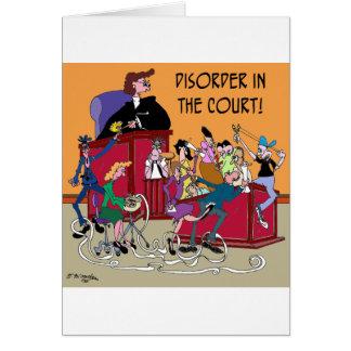 Law Cartoon 6553 Card