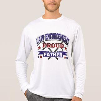 Law Enforcement Proud Father T-shirt