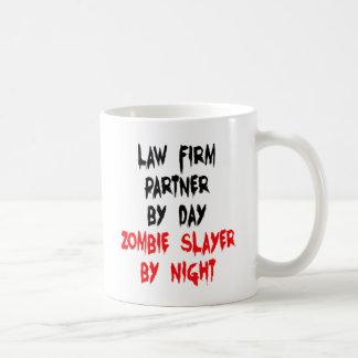 Law Firm Partner Zombie Joke Coffee Mug