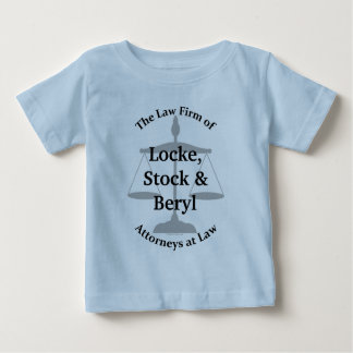 Law Firm Puns Baby T-Shirt