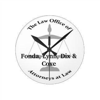 Law Firm Puns Clocks