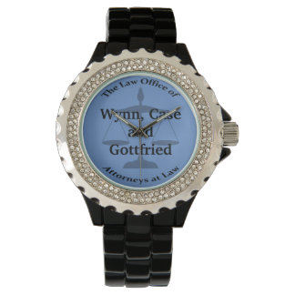 Law Firm Puns Wristwatches
