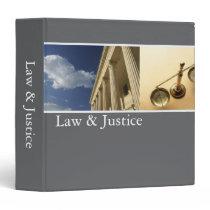 Law Justice Binder binders