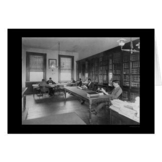 Law Library at Howard University 1900 Card