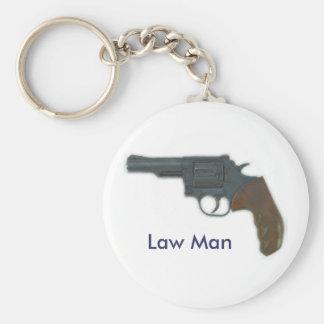 Law Man Keychain