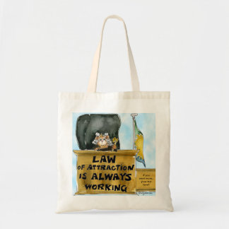 Law of Attraction Always Working Tote Bag