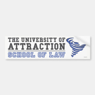 Law of Attraction Bumper Sticker