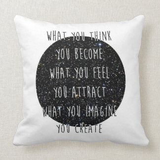 Law of Attraction Throw Pillows