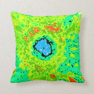 Law of Attraction Quote - Abstract Sunflower Pillows