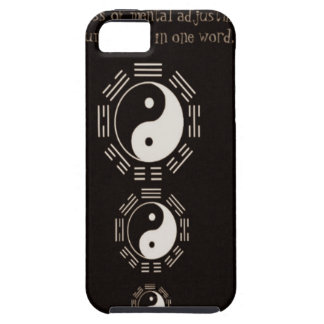 Law of Attraction Quote -Ying Yang iPhone 5 Cover