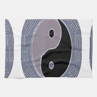Law of Attraction Yin Yang Towels