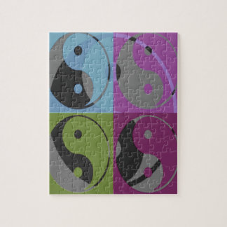 Law of Attraction - Ying Yang Jigsaw Puzzle