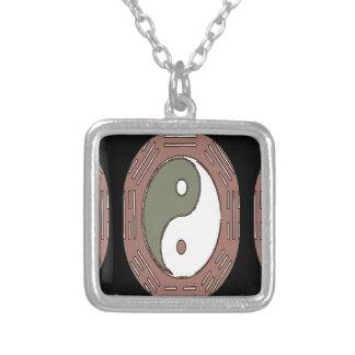 Law of Attraction - Ying Yang Silver Plated Necklace