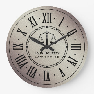 LAW OFFICE | Classic Personalizable Wall Clock