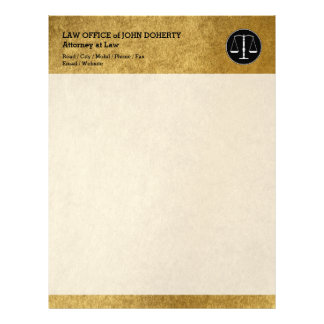 LAW OFFICE | Elegant Letterhead