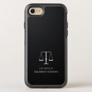 Law Office | Scales of Justice OtterBox Symmetry iPhone 7 Case