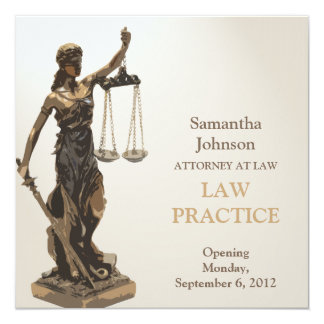 Law Practice Opening Announcement