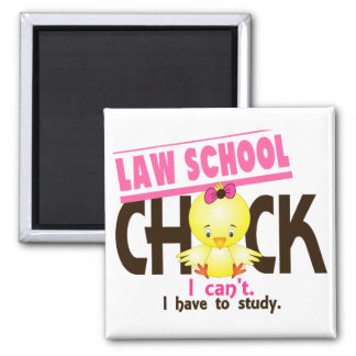 Law School Chick 1 Magnet