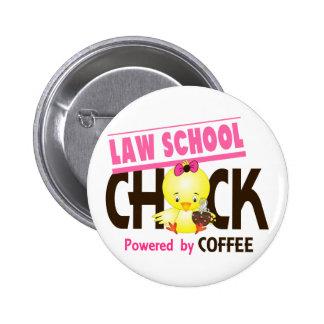 Law School Chick 4 Button