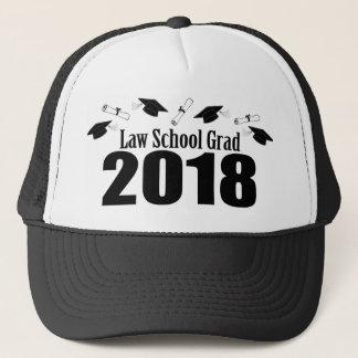 Law School Grad 2018 Caps And Diplomas (Black)