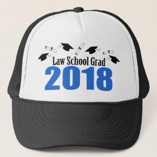 Law School Grad 2018 Caps And Diplomas (Blue)
