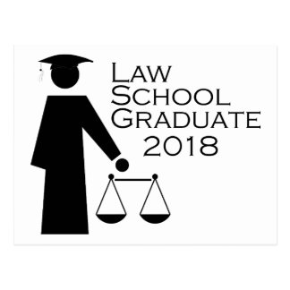 Law School Graduate 2018 Postcard