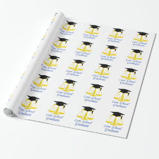 Law School Graduate Wrapping Paper