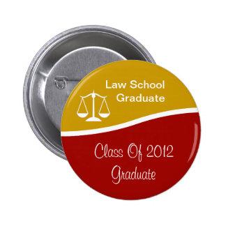 Law School Graduation Buttons