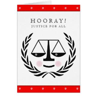 Law School Graduation Card