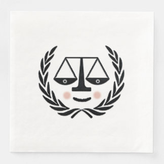 Law School Graduation Paper Napkins