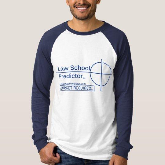 Law School Predictor Long-Sleeve Raglan Shirt