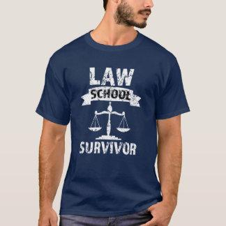 Law School Survivor funny mens attorney shirt