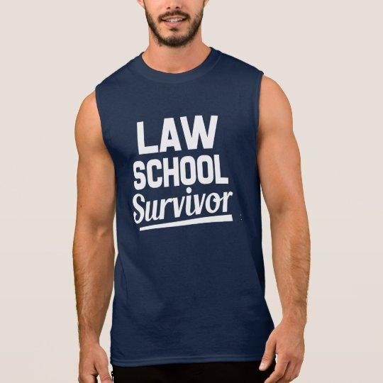 Law School Survivor funny men's shirt